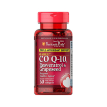 Q-SORB CO Q-10 RESERVATROL & GRAPESEED
