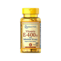 VITAMIN E-400 IU with SELENIUM 50mcg