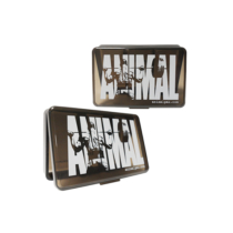 ANIMAL PILL BOX - SMOKY BLACK
