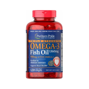 TRIPLE STRENGTH OMEGA-3 FISH OIL 1360 MG