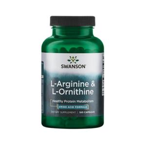 L-ARGININE & L-ORNITHINE